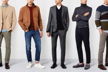 Foto de homens vestidos para entrevista de emprego