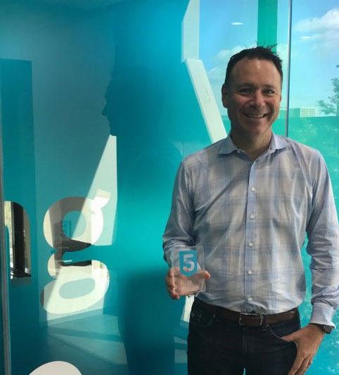 Trent Innes - Diretor da empresa Xero Australia